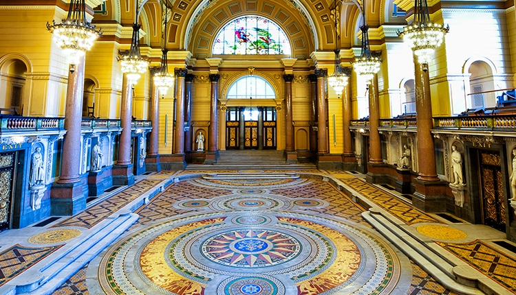 Minton Floor Reveal Quot A Night On The Tiles Quot Heritage In