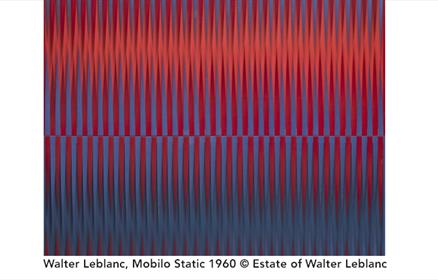 Walter Leblanc, Mobilo Static 1960 copyright Estate of Walter Leblanc