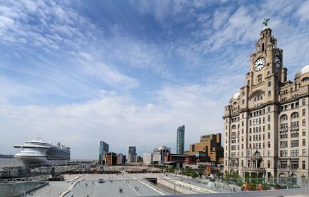 Ocean Dream will grace Liverpool's Pier Head this year. Don't miss her arrival!